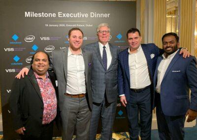 Milestone Executive Dinner - Intersec 2020